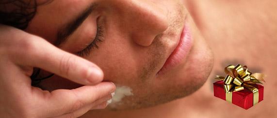 Cura facial + masaje 30´ para hombres